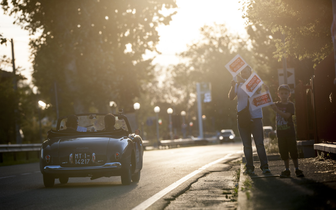 Rome – Florence – Parma: third stage of Mille Miglia 2016