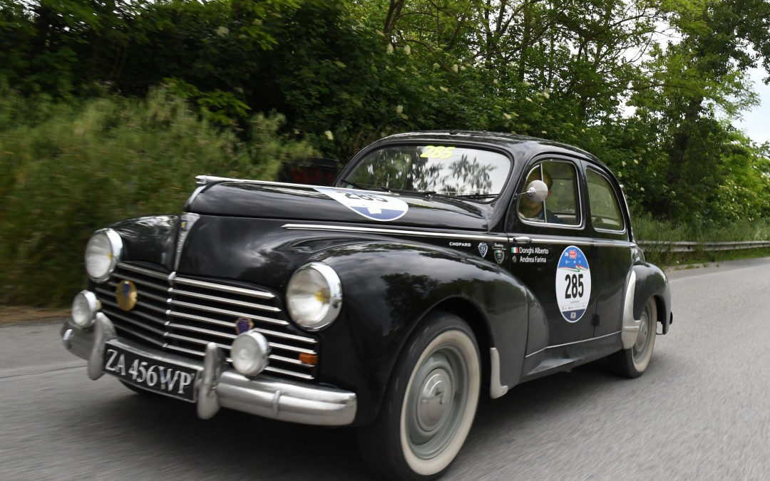 2nd stage of Mille Miglia 2016 packed with kilometers
