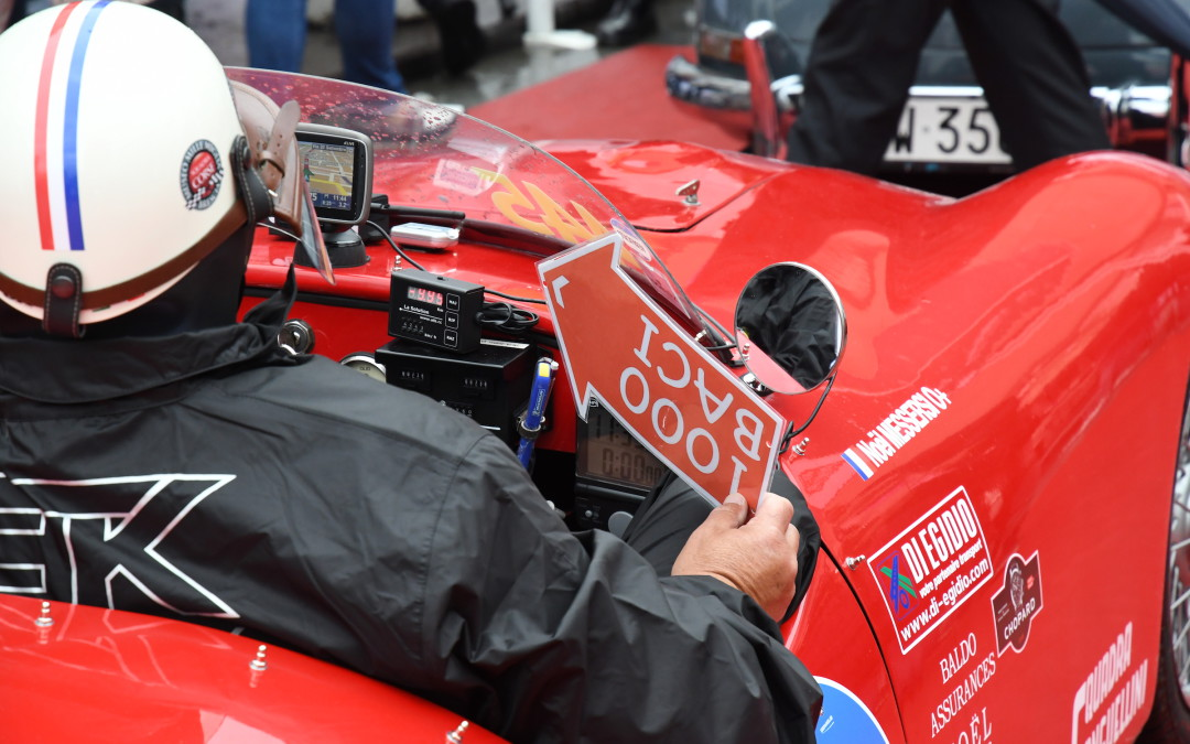 "Start of the Mille Miglia 2016: ""a truly rousing send-off"""