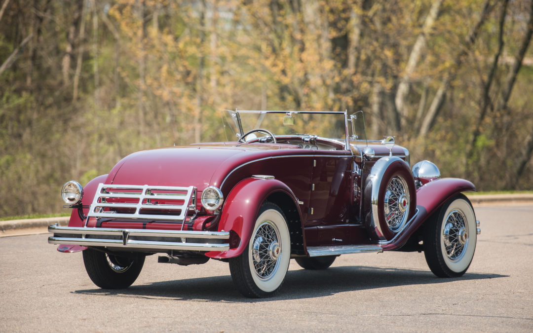 Results of the Motor City auction: Duesenberg produces a solid price ...