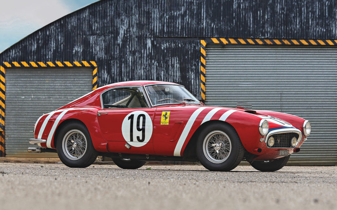 Gooding & C. prepares with 2 Ferrari 250 for official Pebble Beach ...
