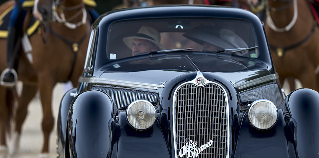 Chantilly Concours 2016: a win for Jon Shirley's Alfa Romeo 8C