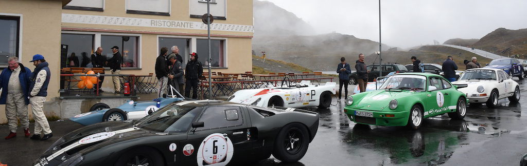 Bernina Gran Turismo - classic cars at the pass