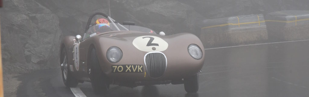 Jaguar C-Type at Bernina Gran Turismo