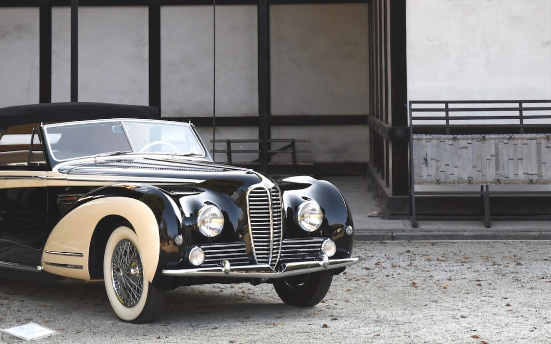 A new classic car event in the Far East: Concorso d'Eleganza Kyoto