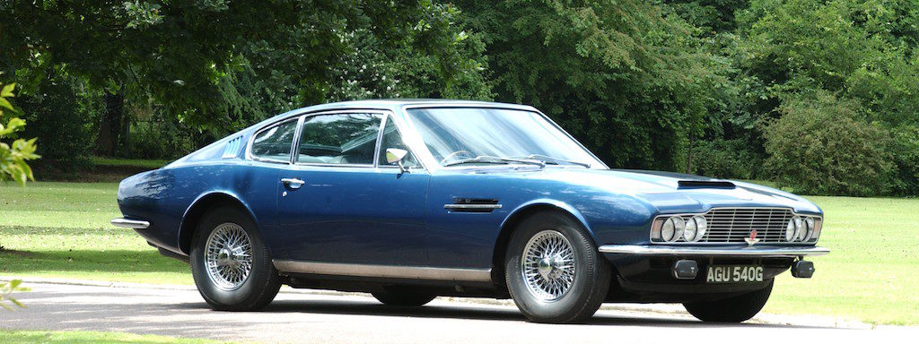 David Brown: his last Aston Martin DB, the DBS