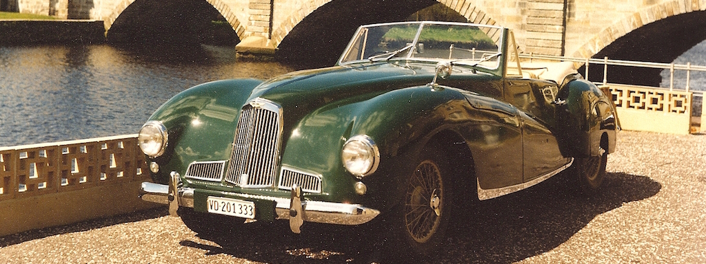"1949 Aston Martin two-liter ""DB1"""