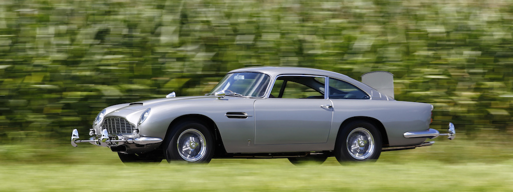 1964 Aston Martin DB5 (James Bond car)