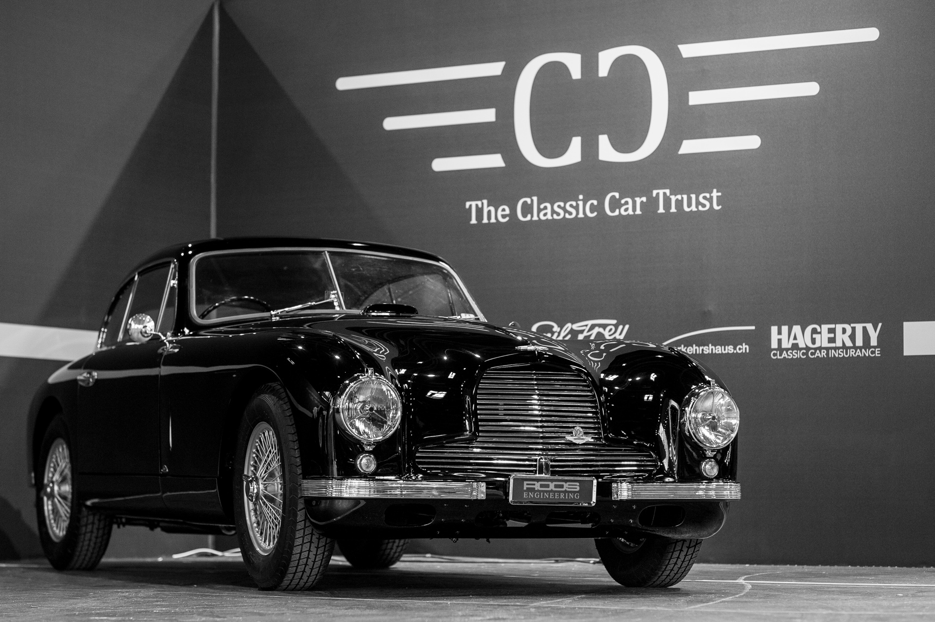 "the classic car trust's ""db cars exhibition"" at rétromobile 2017"