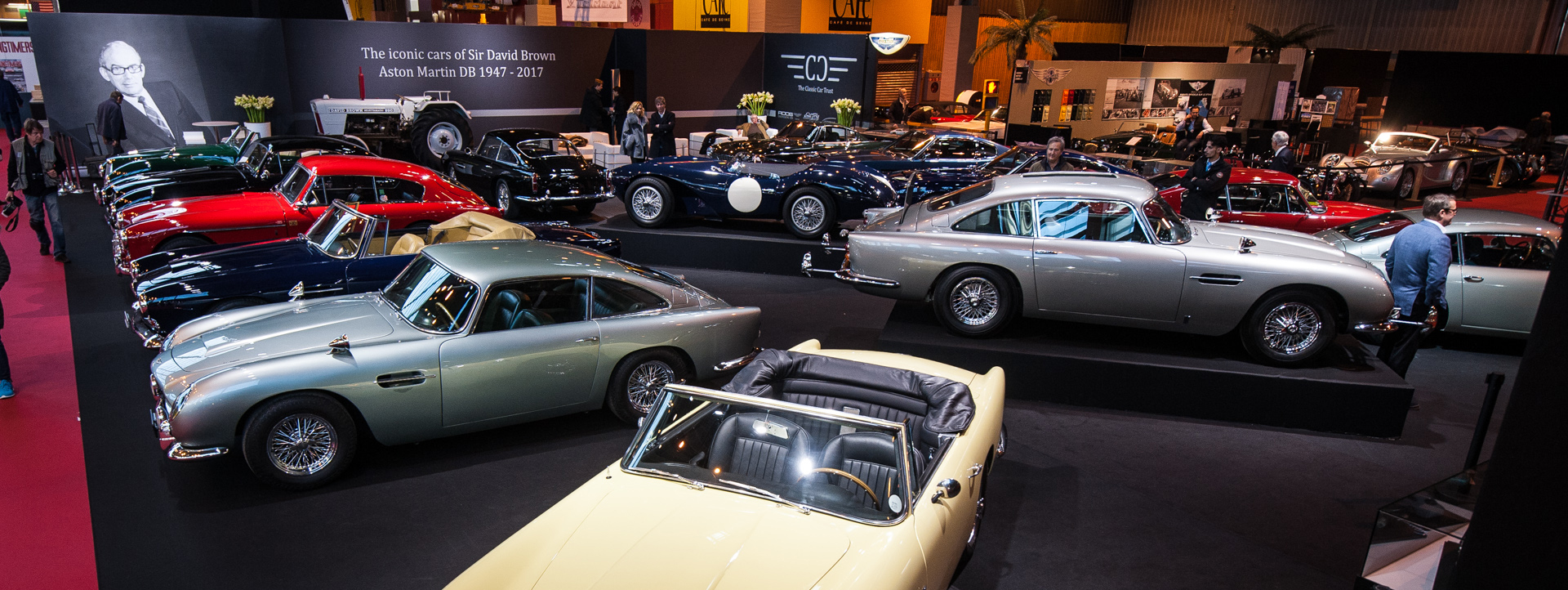 The Classic Car Trusts DB Cars Exhibition At Rétromobile - Classic cars 2017