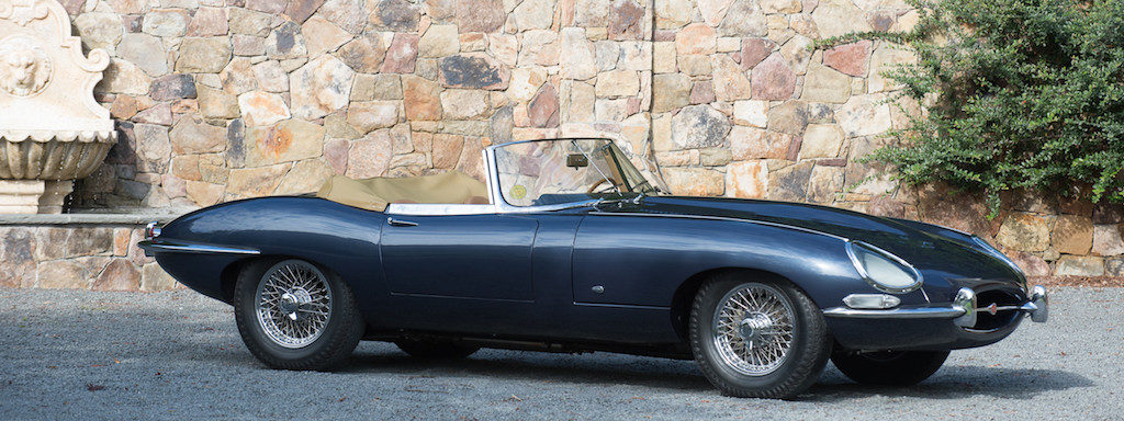 Bonahms Amelia Island Auction - Jaguar E-Type Roadster Series 1