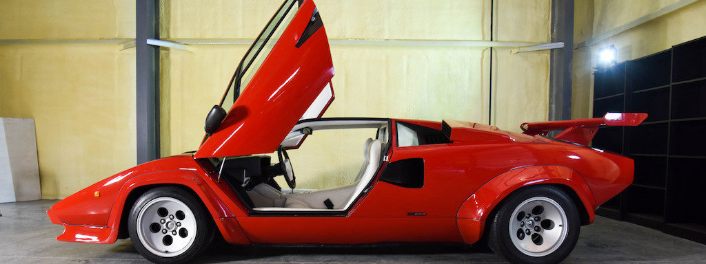 Bonhams Amelia Island auction Lamborghini Countach