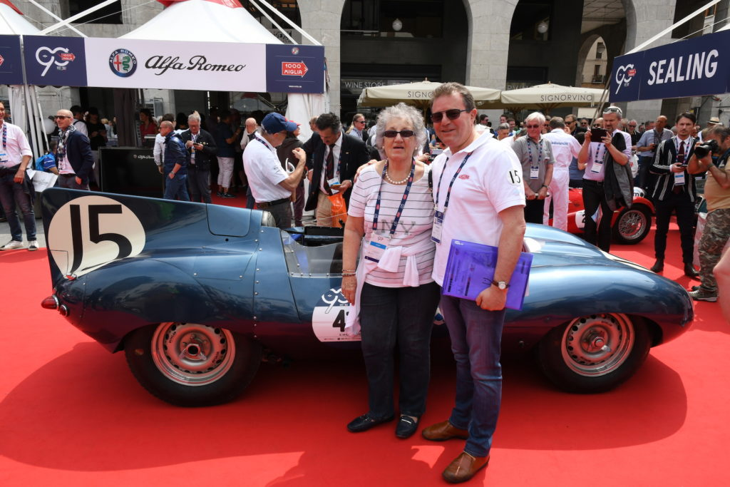 Mille Miglia 2017 - Clive Beecham and Mrs. Vernor
