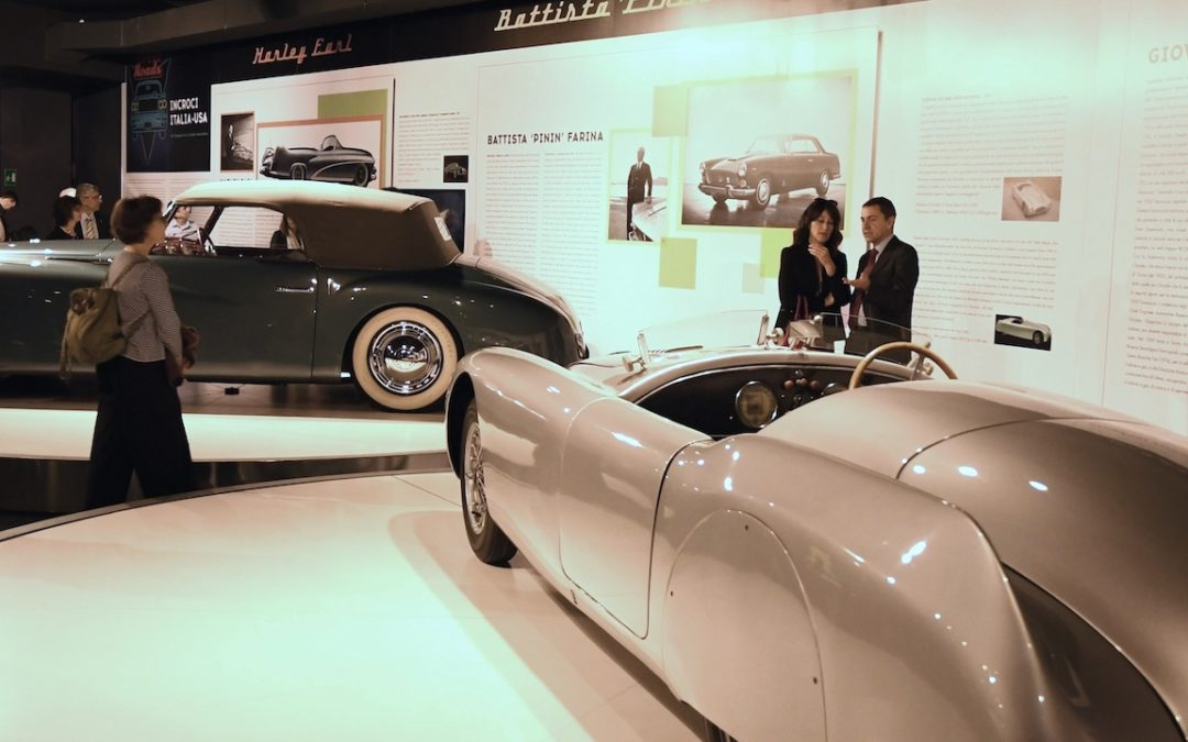 Crossroads exhibition highlights Italo-American relations in car design