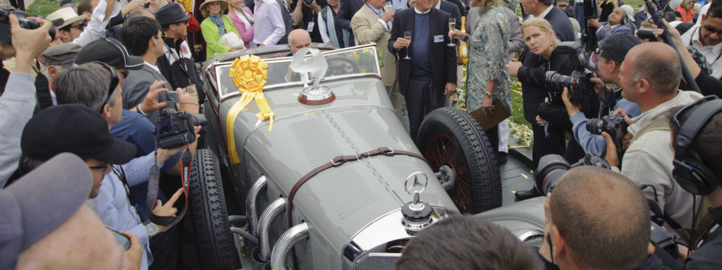 Villa Erba auction 2017: Pebble Beach winning 1928 Mercedes-Benz 680 S Torpedo Sport by Saoutchik on sale