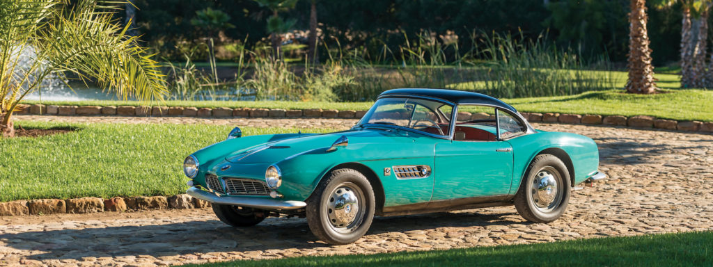 Villa Erba auction 2017: BMW 507 Roadster