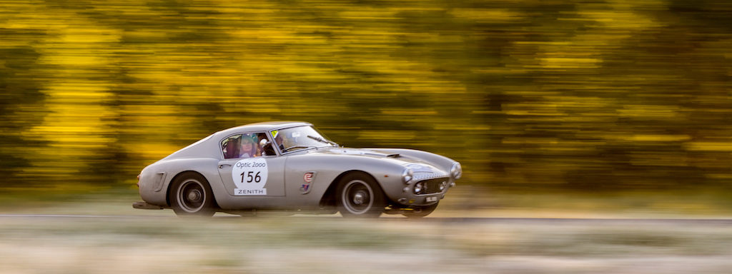 Tour Auto 2017 - Adrian Beecroft in Ferrari 250 GT Berlinetta (historic Tour Auto winner)