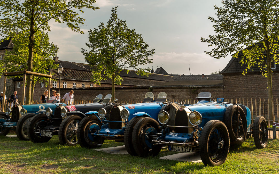 Let the show begin: Classic Days at Schloss Dyck