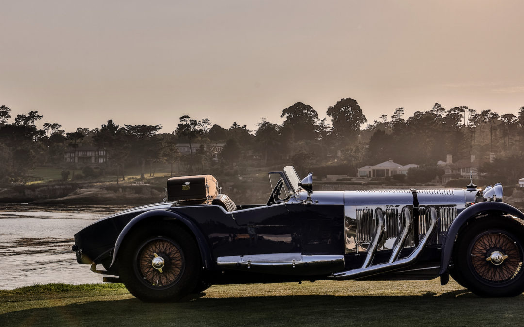 1929 Mercedes-Benz S shines at Pebble Beach Concours d'Elegance