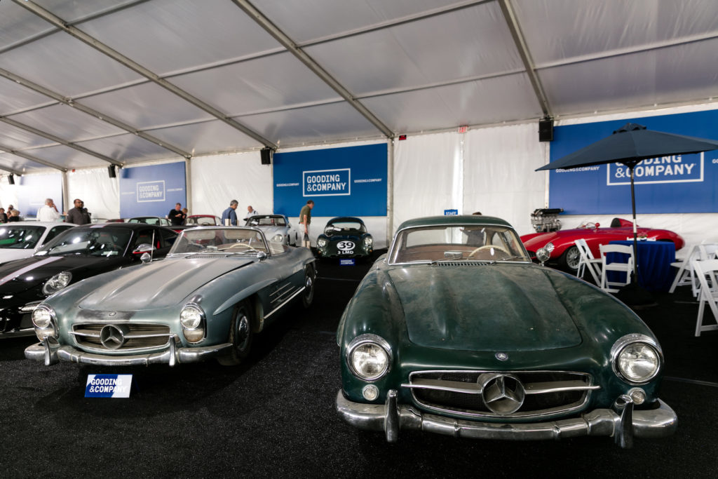 Gooding & Co. auction Pebble Beach 2017: Roadster and Coupe 300 SL