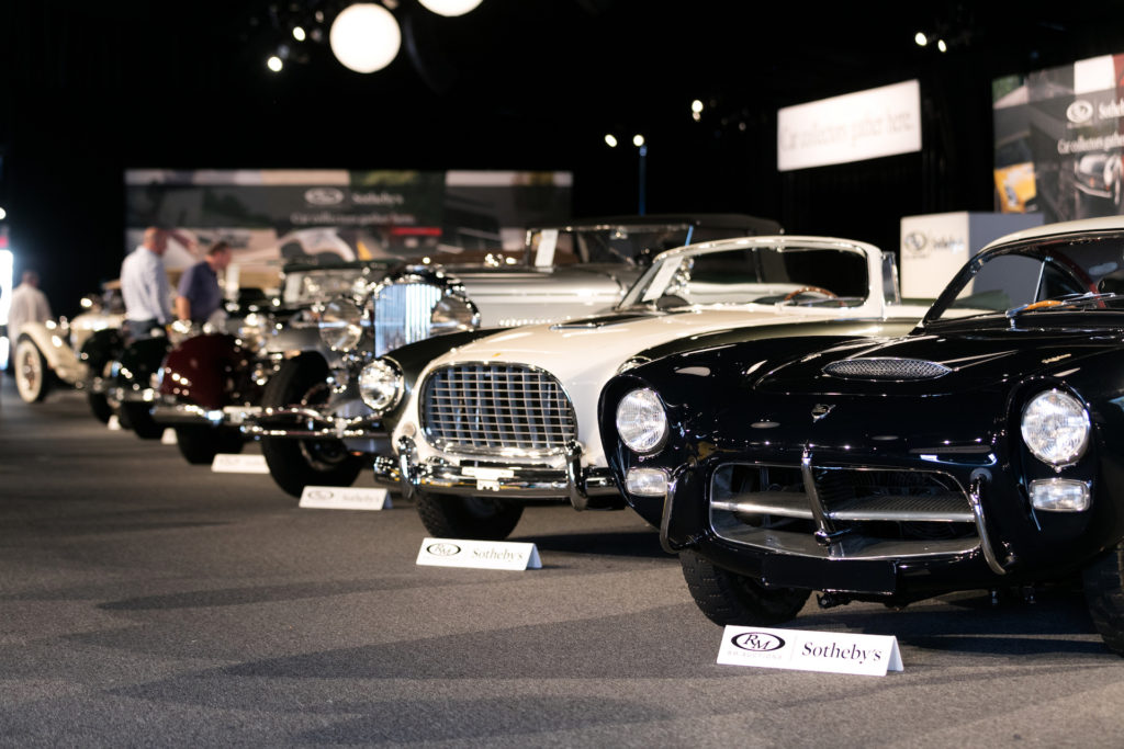 RM Sotheby's Monterey Auction 2017: Pegaso Z-102 (right)