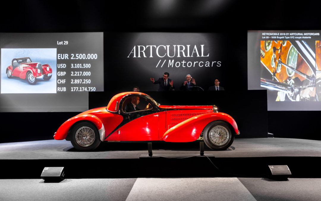 Artcurial Rétromobile Auction 2018 boasts with 13 world records