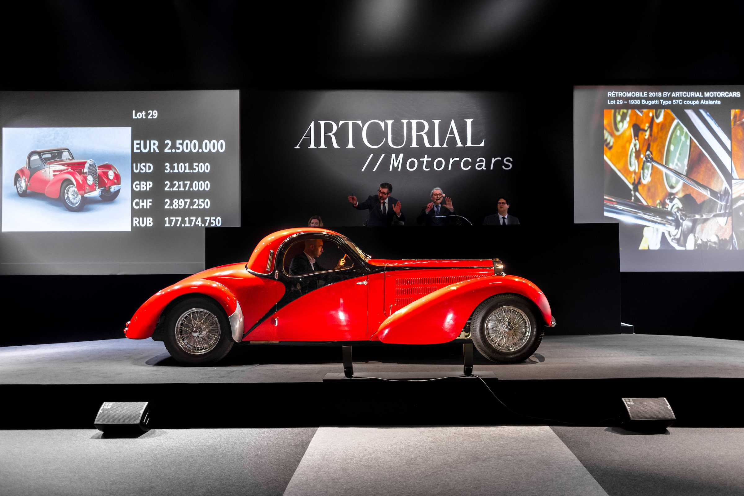 artcurial r tromobile auction 2018 boasts with 13 world records. Black Bedroom Furniture Sets. Home Design Ideas
