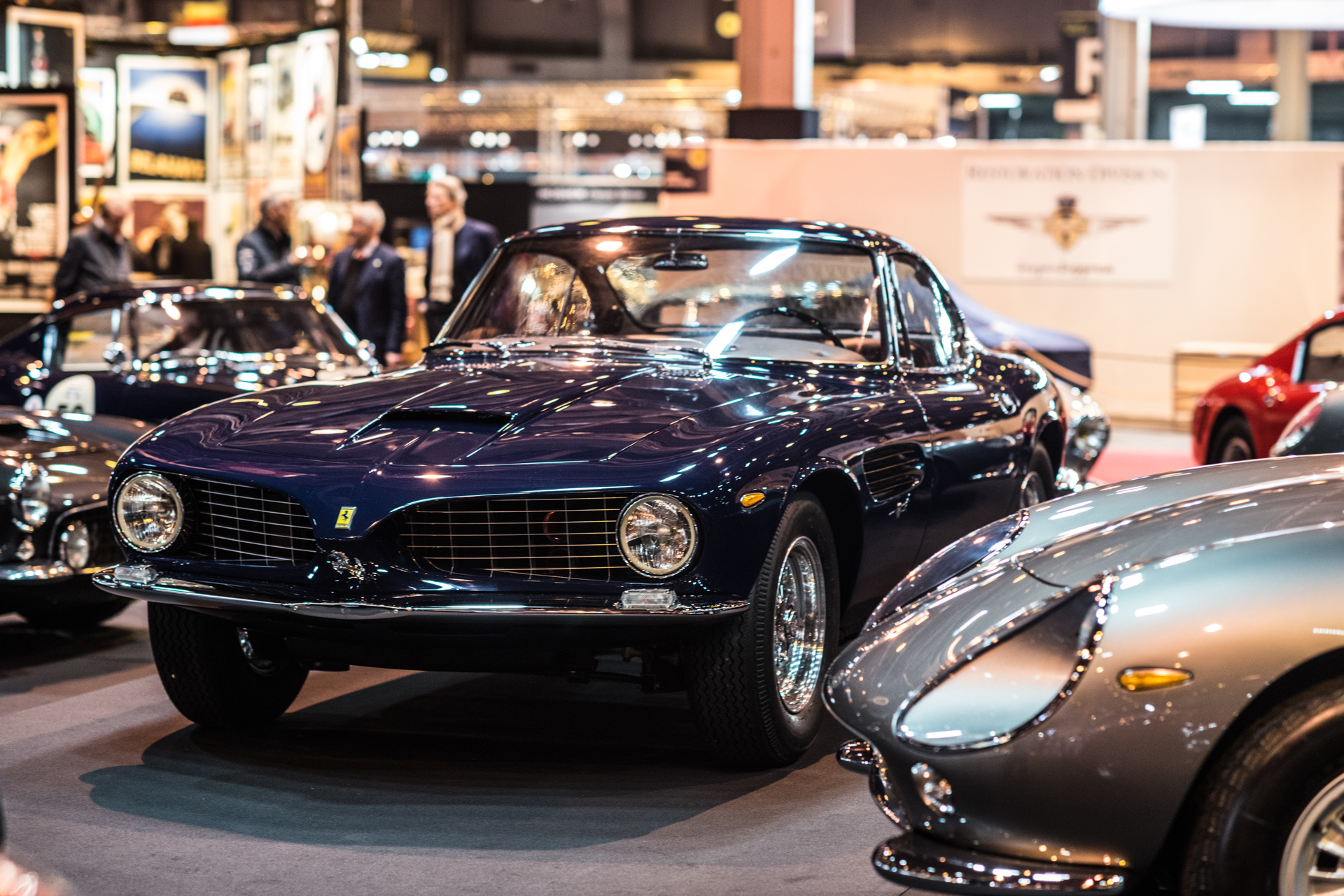 Rétromobile 2018 Review - classic cars in snow - The Classic Car Trust