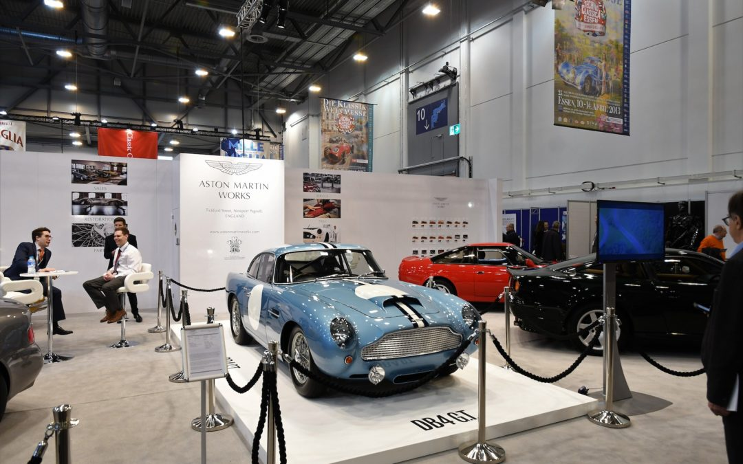 Essen's Techno Classica shows: classic car market is robust
