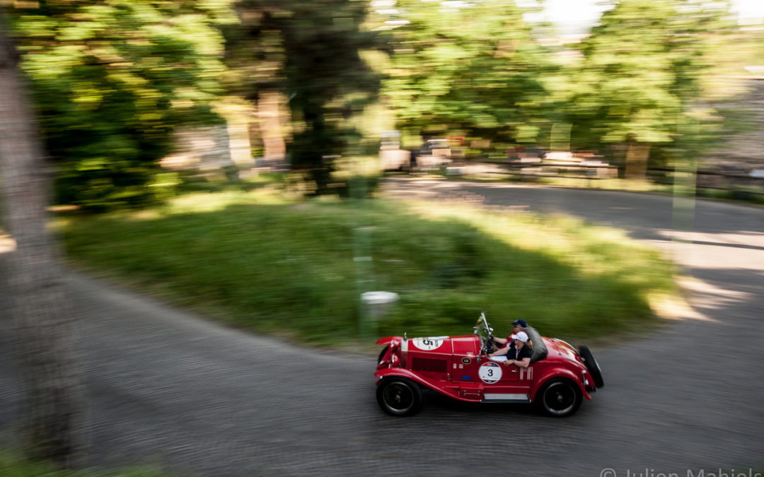 2018 Mille Miglia Participants and Their Cars