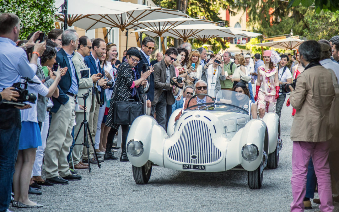 Competing in the 2018 Mille Miglia with a concorso winner
