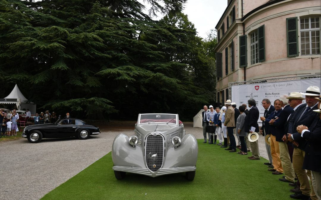 Concours d'Elegance Suisse – a well established youngster