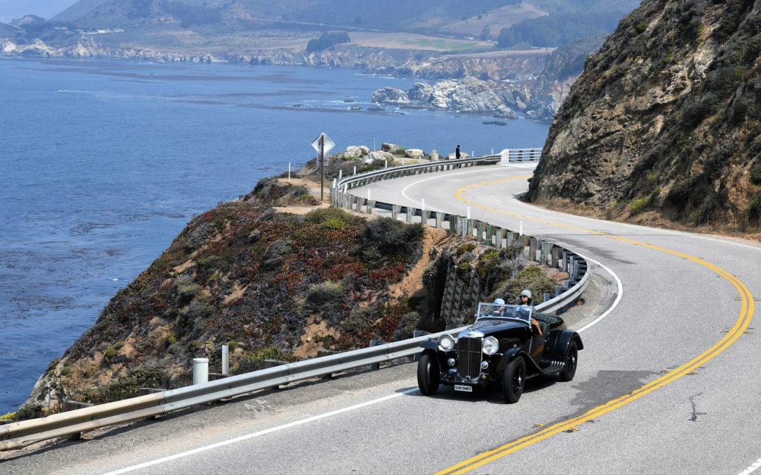 Monterey Week: The Pebble Beach Tour d'Elegance 2018