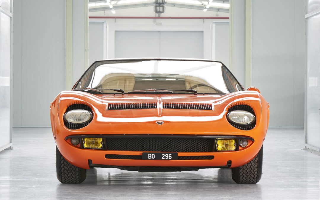 """The Italian Job"" Miura discovered after 50 years"