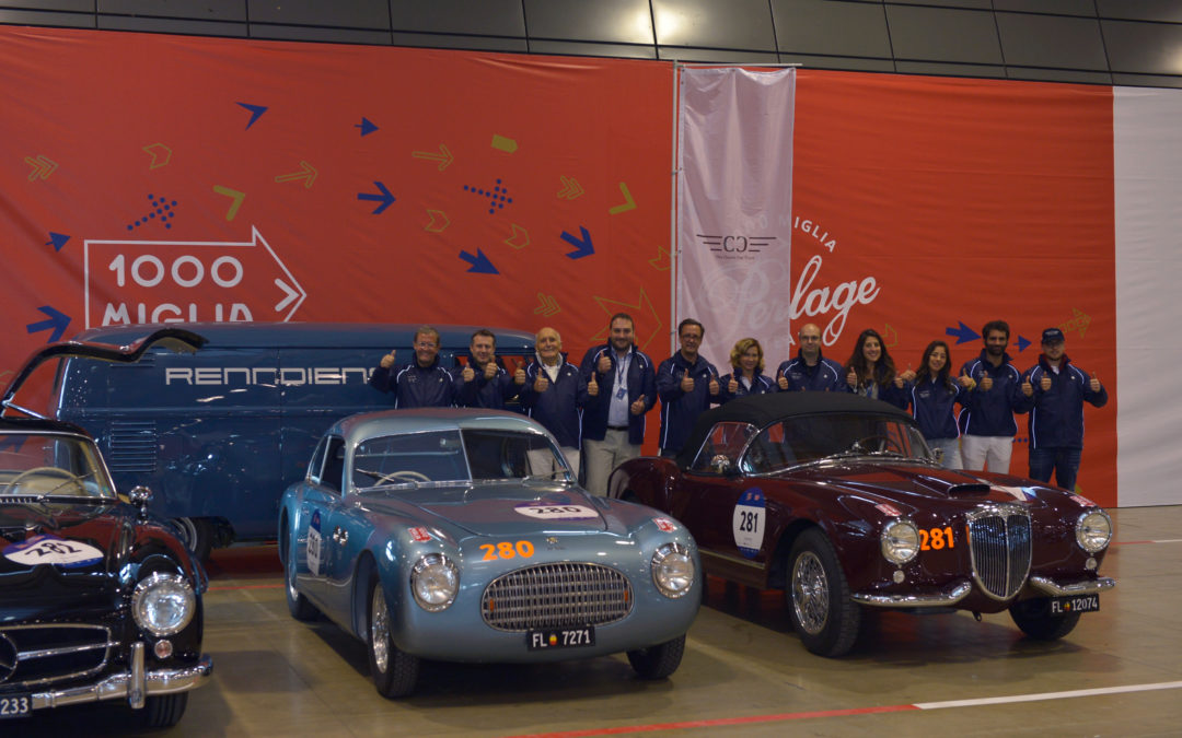 Scuderia The Classic Car Trust: three crews taking part the 2019 edition of the Mille Miglia.