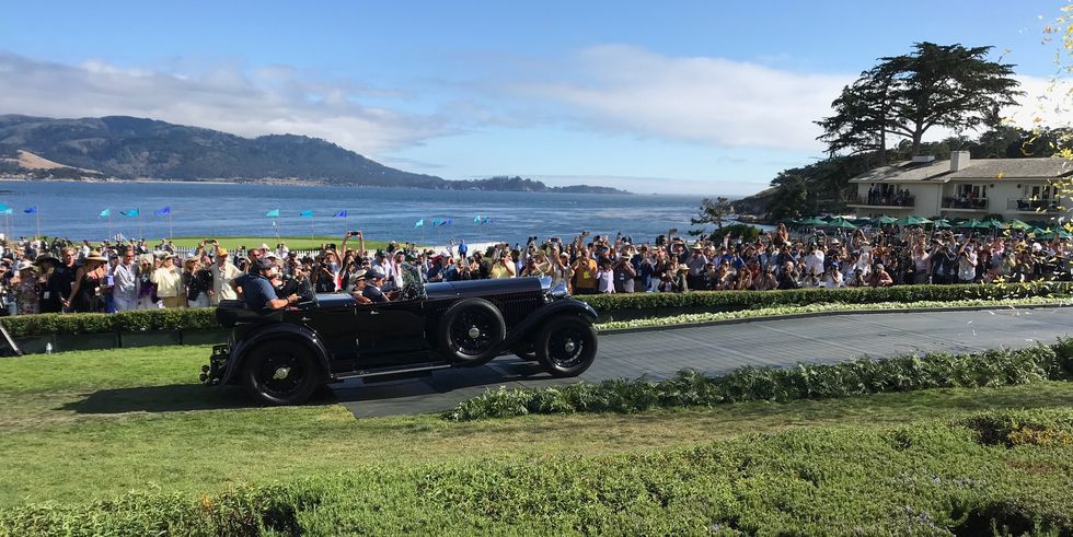 Best of Show at Pebble Beach: Bentley's first time but Zagato, with its 100 years of history, is there.