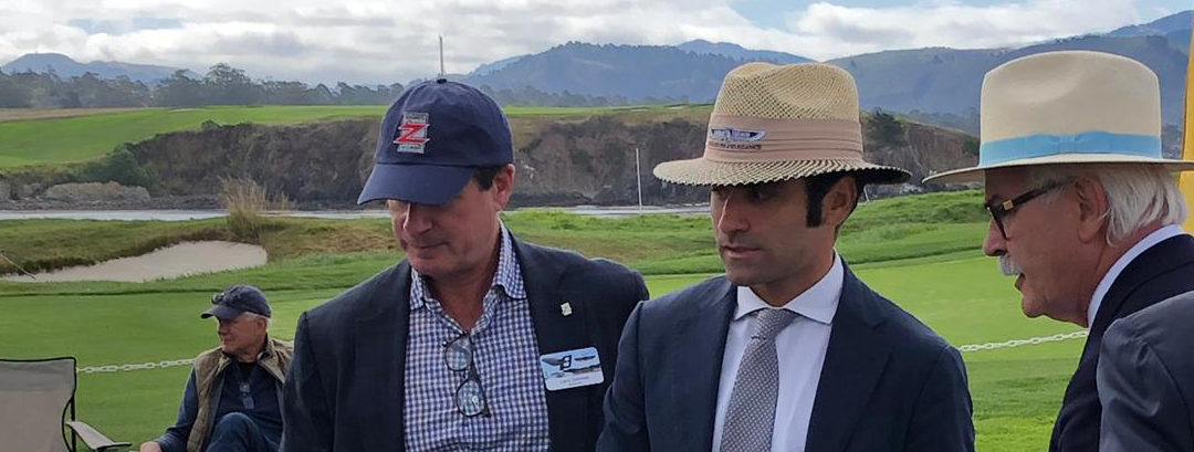 A unique experience: being in Pebble Beach together with the judges and discovering their hard work